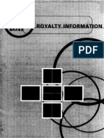 BMI Royalty Information