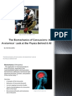 the biomechanics of concussions
