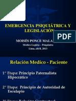 Emergencia Psiquiatricas Legislacion