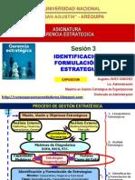 Identificacion y Formulacion de Estrategias