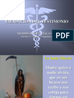 Validacion Del Testimonio 2013