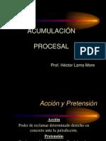 Acumulacion procesal