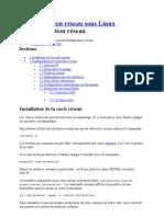 Administration réseau sous Linux 1