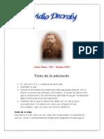 Seminario Ovidio Decroly