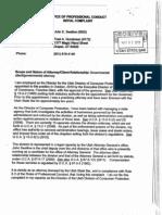 Gundersen-Swallow Utah State Bar Complaint