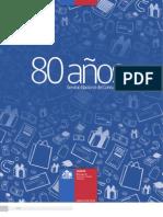 Revista 80 Anos Del Servicio Nacional Del Consumidor de Chile