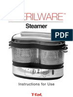 Steamer Instructions