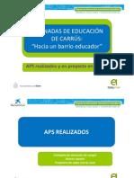 Inventario de APS en Carrús-Este Abril 2013