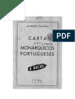 Carta Aos Monarquicos Portugueses(1)