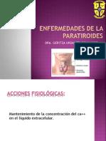 _tema 2. Patologia de La Paratiroides - Dra. Geritza Urdanet