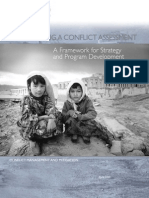 Conducting A Conflict Assessment, A Framework for Strategy and Program Development, 2005, uploaded by Richard J. Campbell