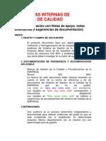 AUDITORÍAS INTERNAS DE SISTEMAS DE CALIDAD