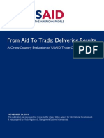 USAID, From Aid To Trade