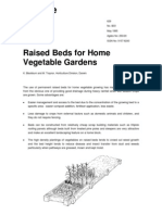 raised beds for home vegetable gardens