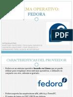 Sistema Operativo Fedora