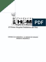 CRITERIOS DE ADMISION A LA UCI HOMI.pdf