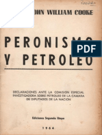 John William Cooke - Peronismo y petróleo