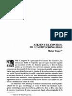 Kelsen y El Control de Constitucionalidad