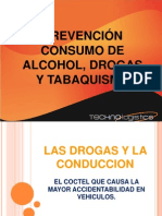 PREVENCIÓN CONSUMO ALCOHOL, DROGAS Y TAQUISMO SI