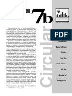 Copyright Law Circular 7B