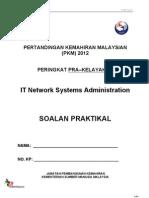 It Network -Soalan Pkm Pra-kelayakan 2012
