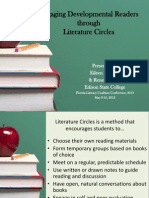 Lit Circles Presentation and Guide Sheets