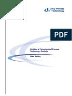 Davy Process Tech_Building a Process Technology Portfolio [1]