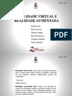 Seminário I.C. - Realidade virtual