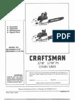 Craftsman Poulan 3700