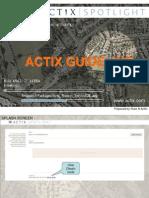 Actix Guideline