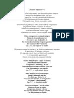 Letra del Himno AVC.doc