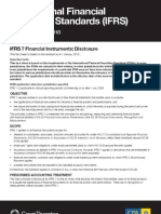 IFRS 7 Financial Instruments Disclosure