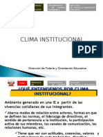 CLIMA INST.