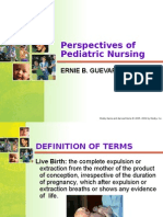 Perspective of Pediatric Nursing