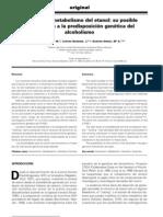 Enzimas Metabolismo Del Etanol