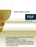 Object Clause of MOA