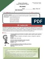 guía reglas sobre el uso de las letras G y J