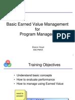 Earned Value