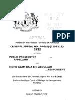 Mohd Azam Raja-Submissions COA