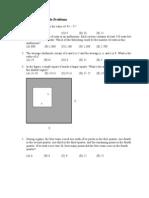 Math Olympiad Sample Problems