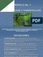 Modulo 4 Evaporacion y Transpiracion 2010