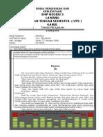 16907205 0809 UTS Ganjil Bahasa Indonesia Kelas 8