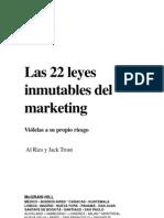 22 Leyes Inmutables de La Mercadotecniaweb