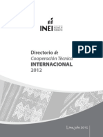 Directorio de Coperantes Lima Julio - 2012