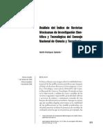 análisis revistas conacyt