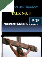 CLP Talk 4. Repentance and Faith
