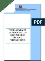 Pautas de Análisis de Documentos TP