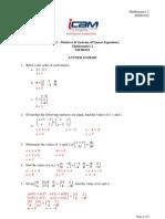 Tutorial 2-Answer Scheme