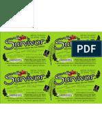 Survivor Flyer
