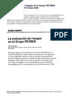 La evaluación de riesgos en Peyber